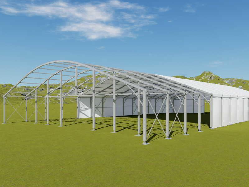 Wedding Hangar Tent